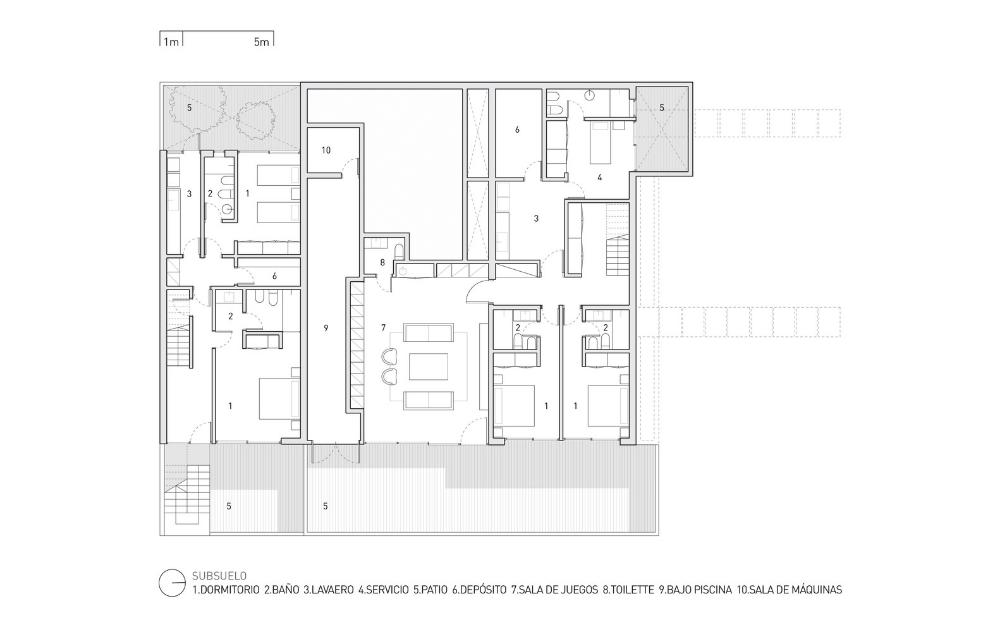 Gallery Of La Iluminada House Martin Gomez Arquitectos 20 Martin House House Plans Basement Plans