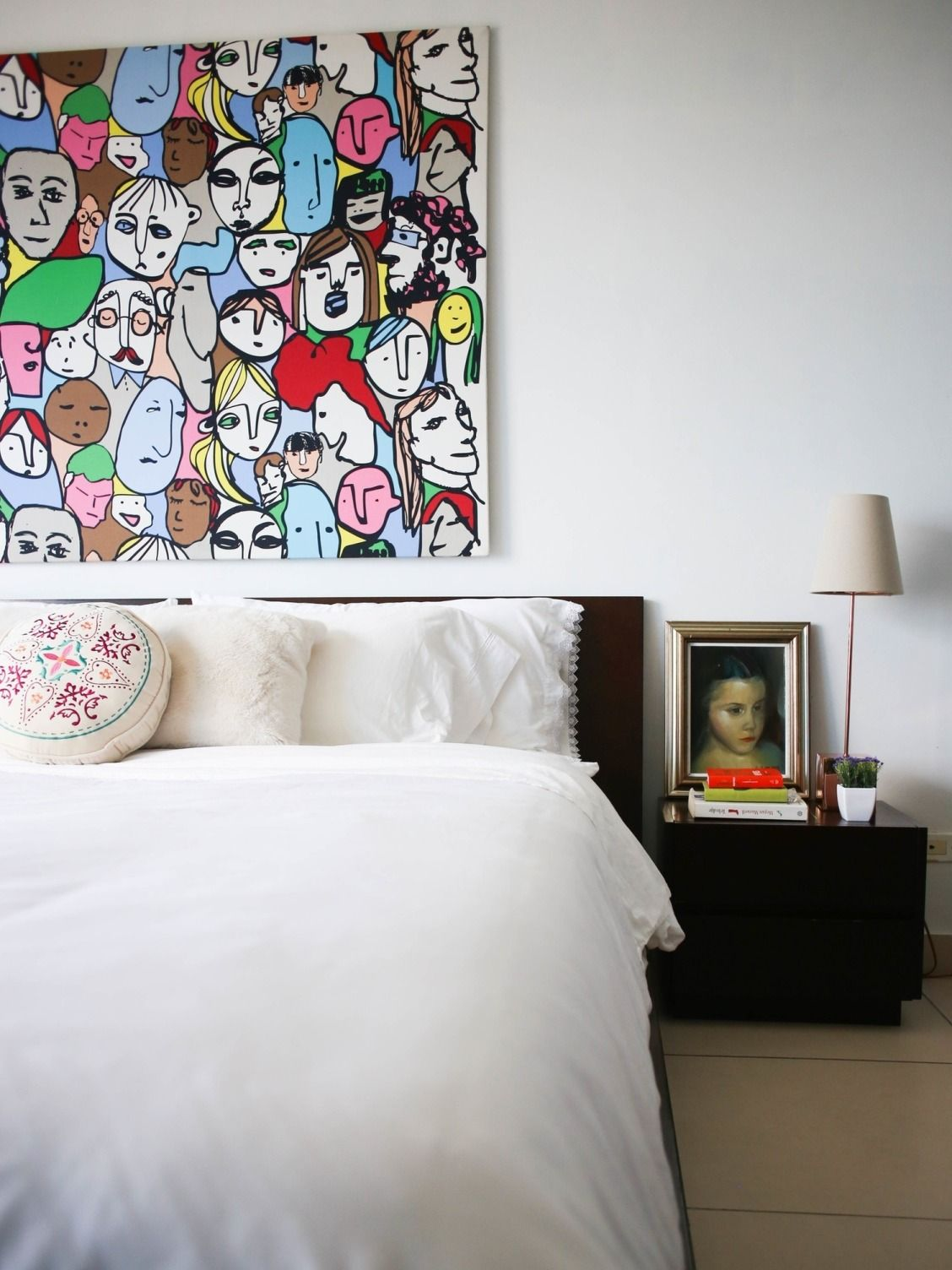 5 Ways to Customize Your Bedroom - Don't let it feel bland or generic—add bold colors, bright art out of the ordinary things to make it truly yours.