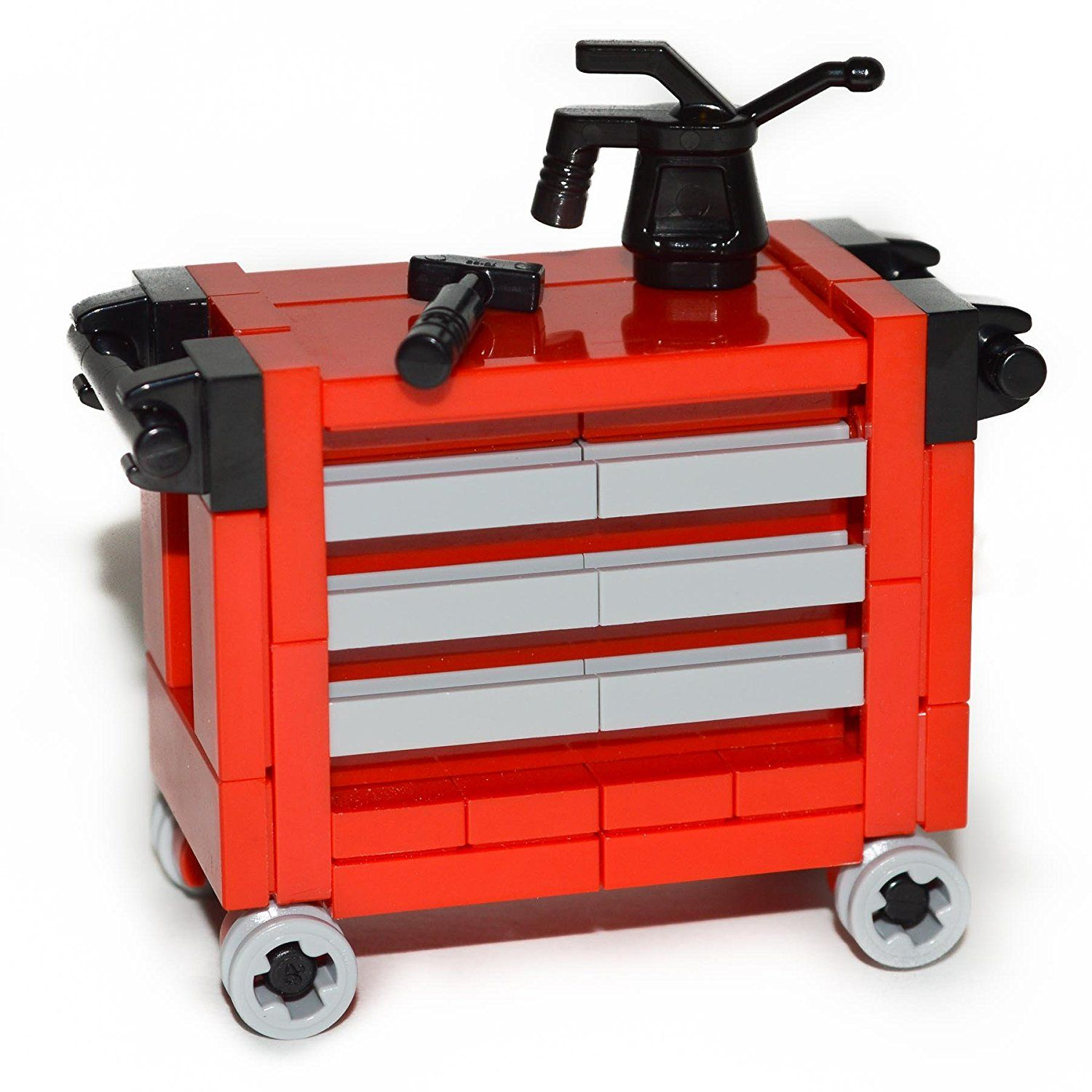 LEGO Custom Garage Set Collection with