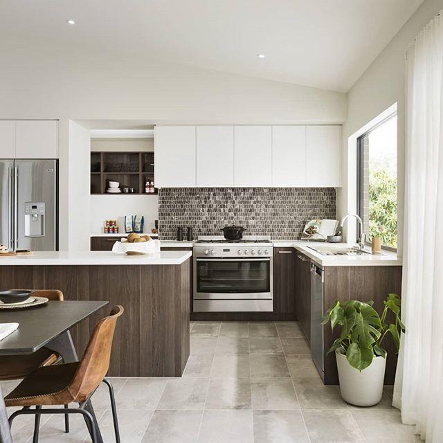 A Kitchen Fairhaven: @fairhavenhomes Armstrong Estate Features Cafe Oak Ravine