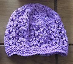 Wave of Light Baby Hat