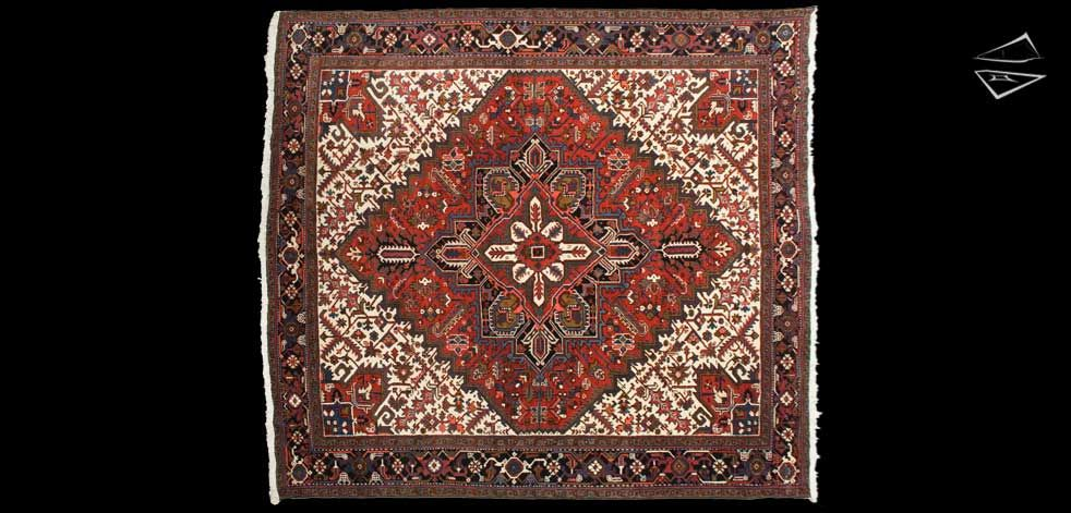 Persian Mehrivan Square Carpet 11 3 X 12 0 Rugs Rugs On Carpet Square Rugs