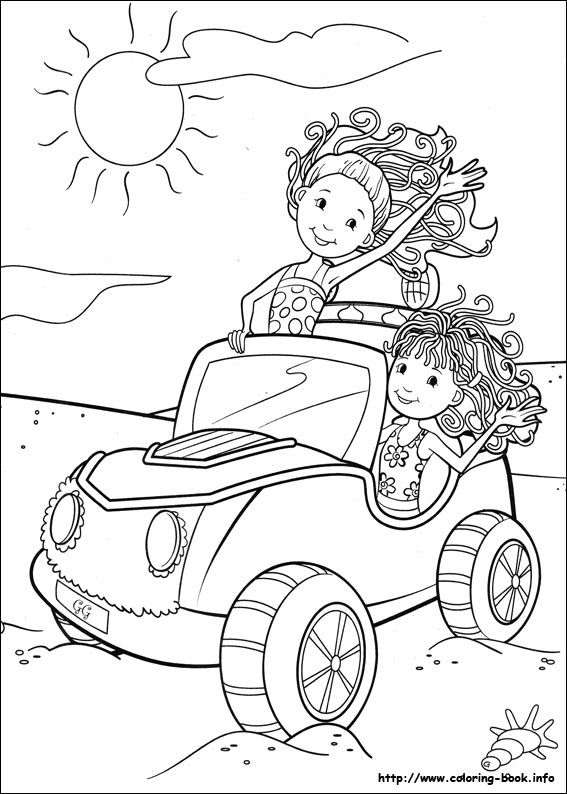 Groovy Girls coloring page  Craft Free Coloring Pages