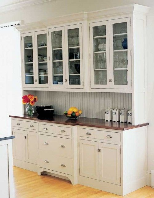 Efficient Free Standing Kitchen Cabinets Using antique freestanding kitchen cabinets for storage in modern kitchens. This of course used to be quite ... & 23+ Efficient Freestanding Kitchen Cabinet Ideas that Will Leave You ...