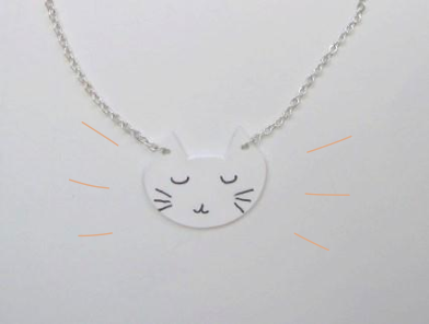 tuto collier chat