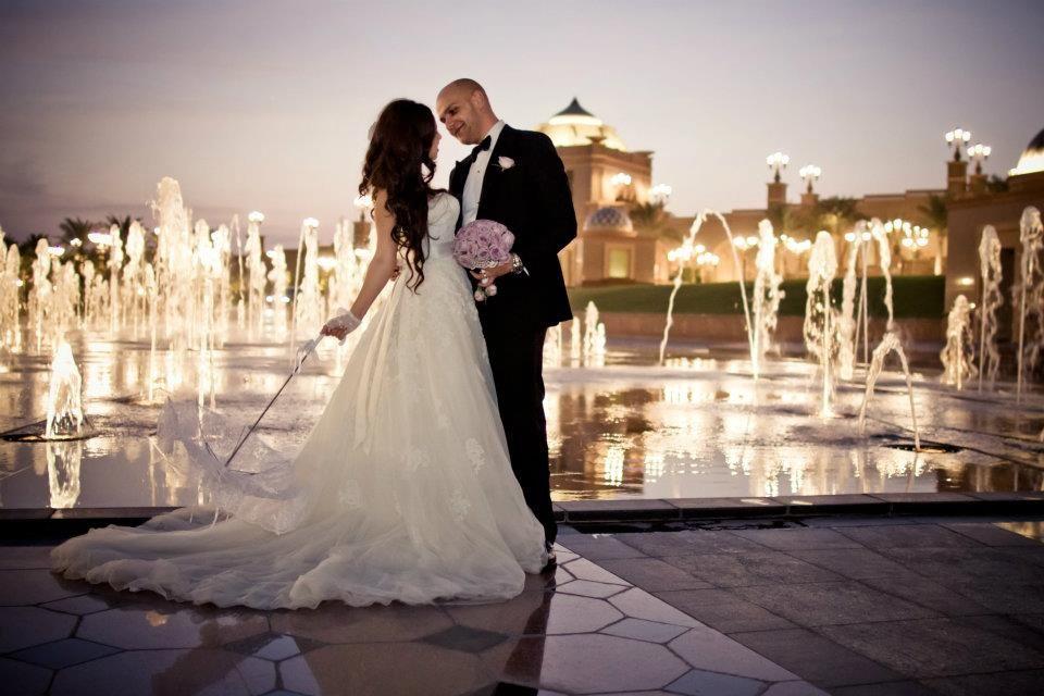 Real Expat Wedding In Abu Dhabi/UAE 'Emirates Palace Hotel
