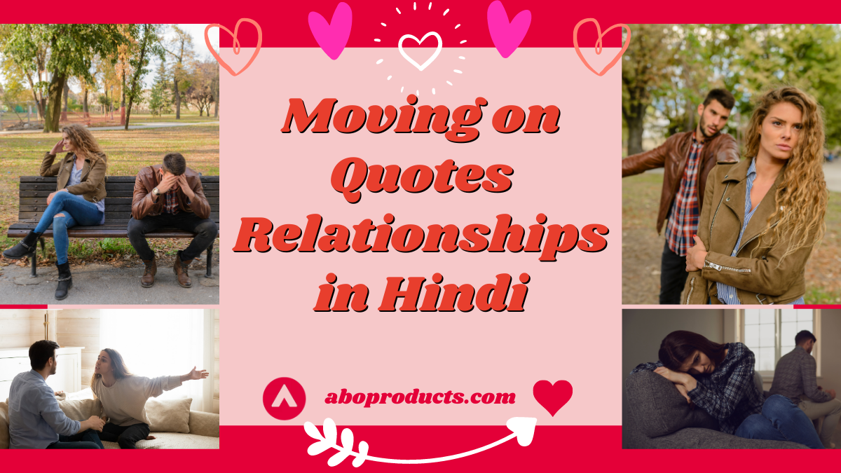 Moving on Quotes Relationships in Hindi