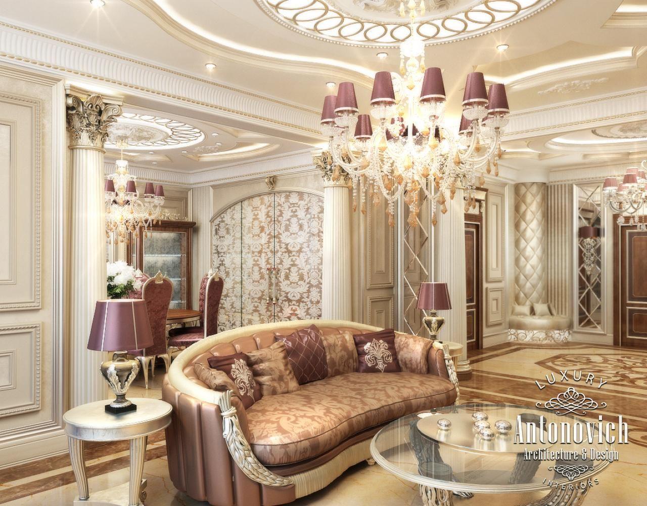 Apartment interior design in dubai down tower dubai for Living room ideas dubai