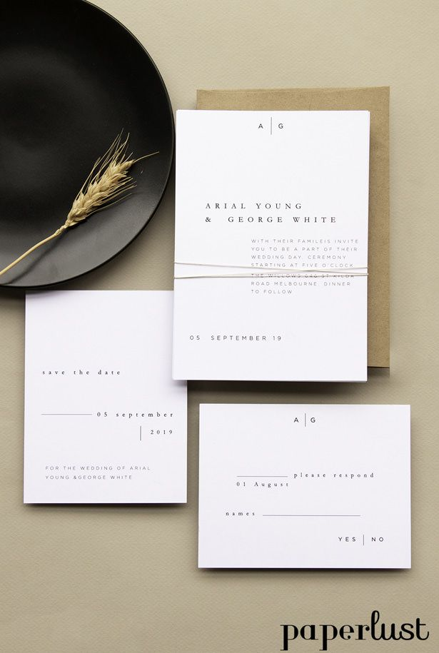 Done for You: Wedding Invitations with Paperlust - Belle The Magazine