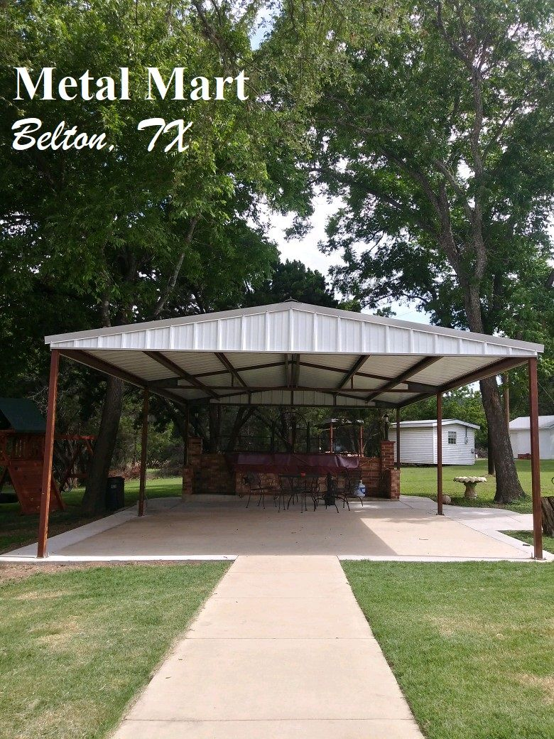 Metal Mart can help with your heavy duty carports covers