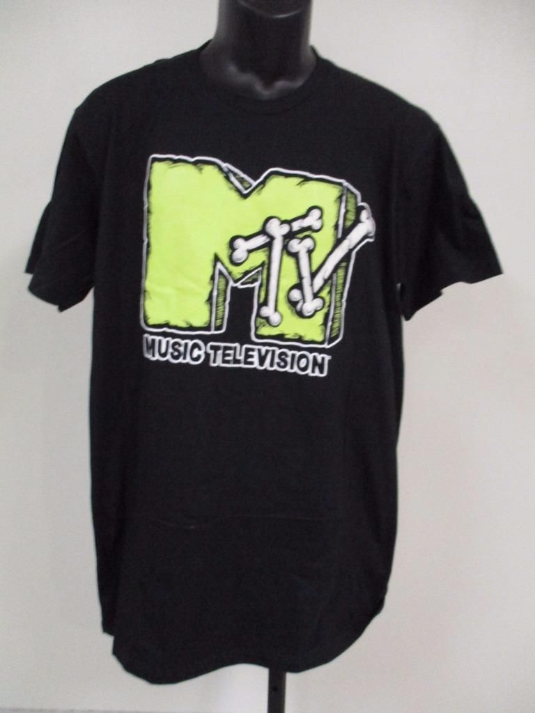 78b6dc81e New MTV Music Television Mens Adult Size L Large Vintage 80s 90s Shirt |  eBay