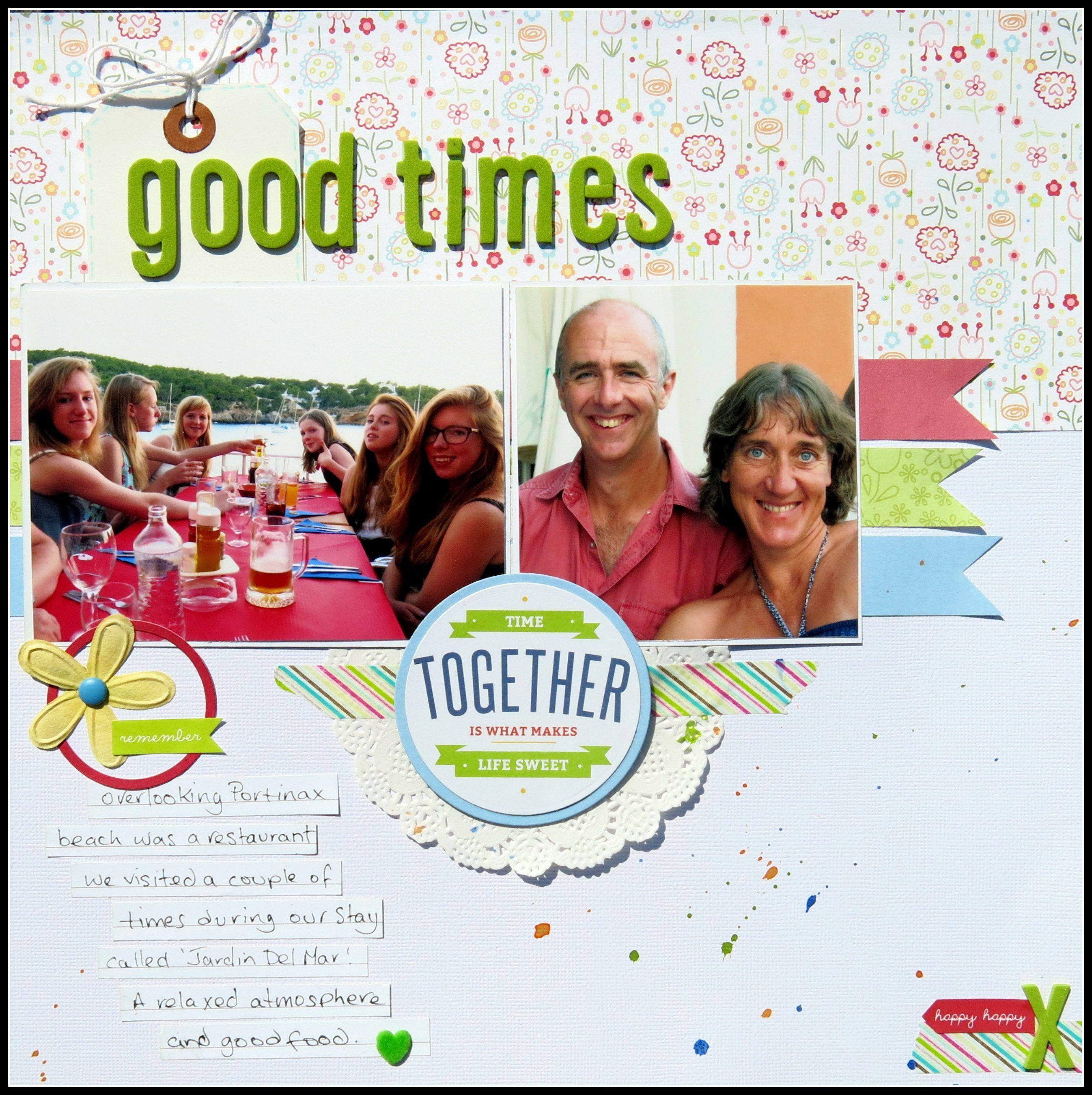 How to scrapbook good - Good Times Scrapbook Com