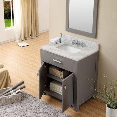 Water Creation Madison 30 Quot Single Sink Bathroom Vanity
