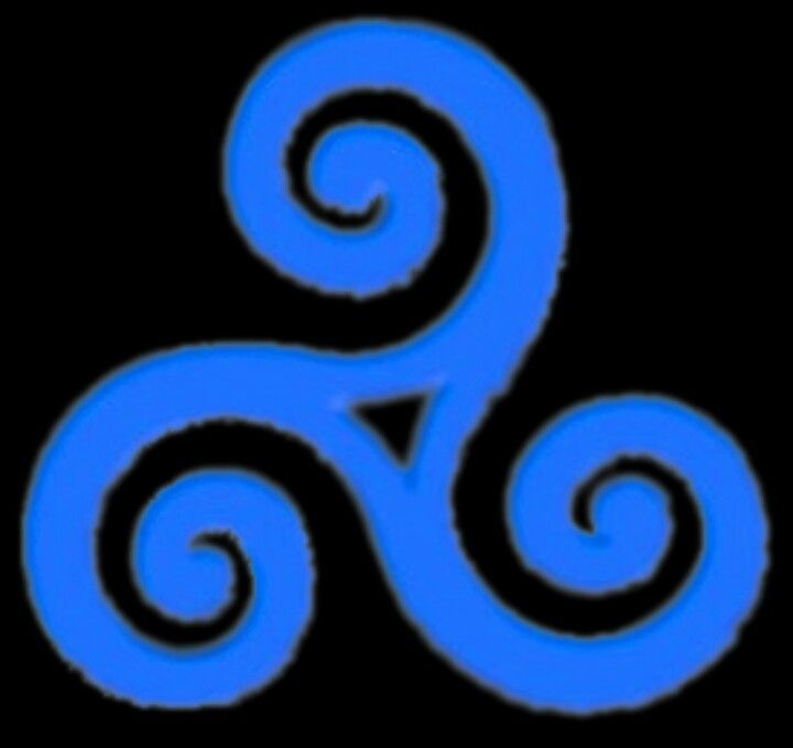 the celtic symbol for wind  tattoo