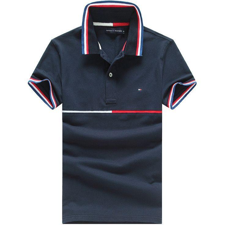 Tommy Hilfiger Polo Shirts Men Short Hemd Polo Poloshirt Manner