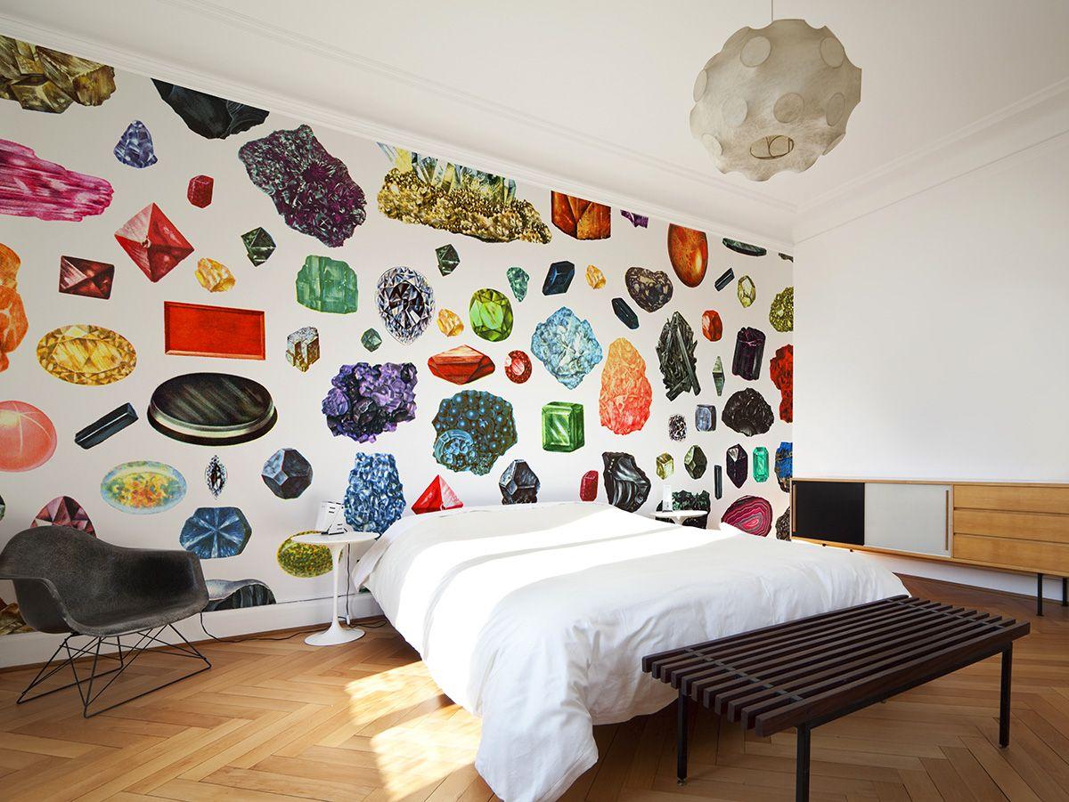 Crystal Dig Astek Inc. Wall coverings, Home decor, Design