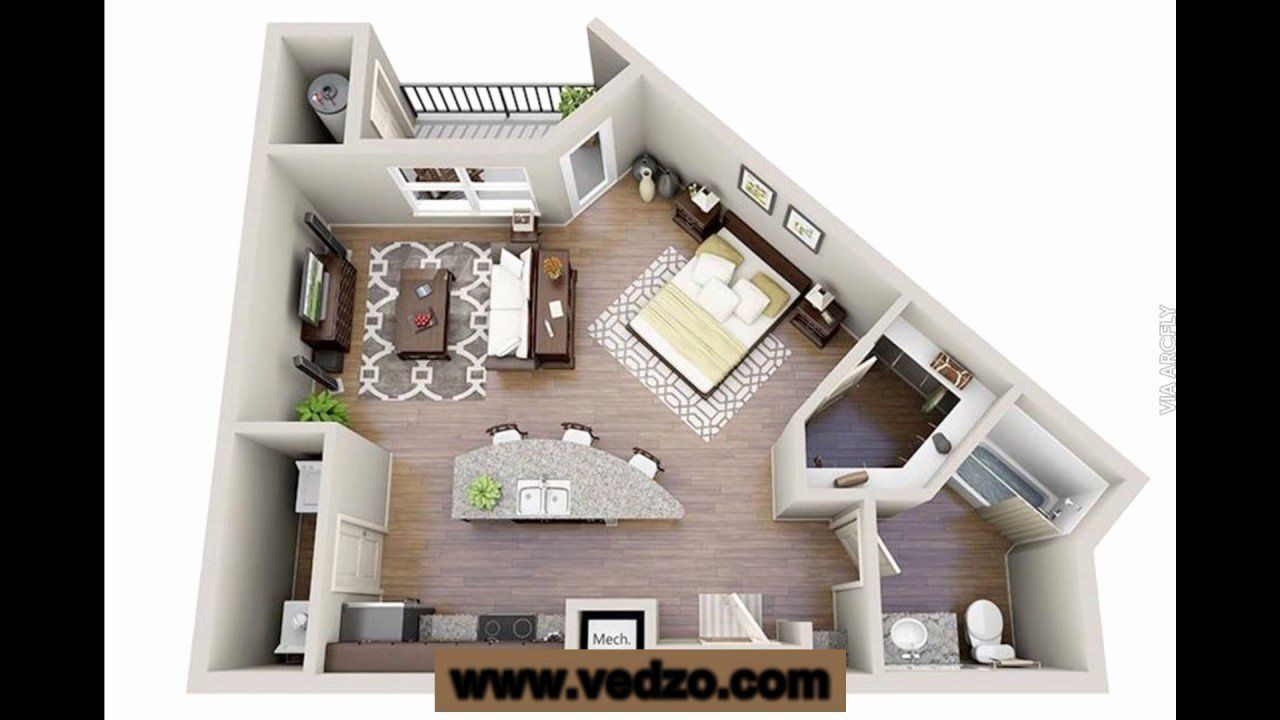 Two Bedroom Tiny House Plans Inspirational One Or Two Bedroom Tiny House Plans Best Of 2 In 2020 Studio Apartment Floor Plans Condo Floor Plans Studio Apartment Layout