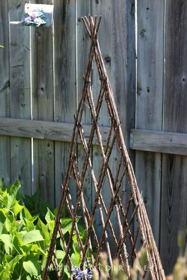 12 Creative Garden Obelisk Ideas | Empress of Dirt