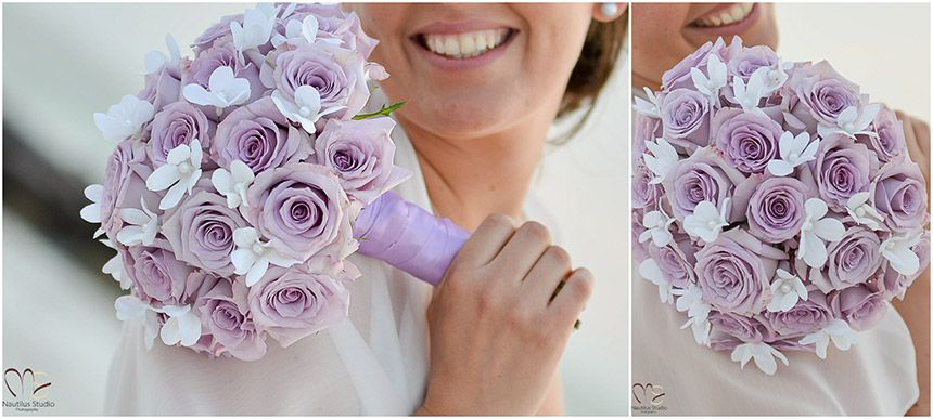 Lavender roses bridal bouquet with silk flower stephanotis bridal lavender roses bridal bouquet with silk flower stephanotis bridal bouquet gallery wedding in florida mightylinksfo