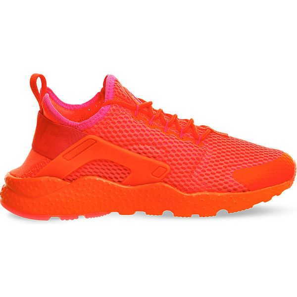big sale a991f 9d989 Nike Air huarache run ultra leather and neoprene trainers ( 130) ❤ liked on Polyvore  featuring shoes, crimson breathe, print shoes, leather shoes, ...