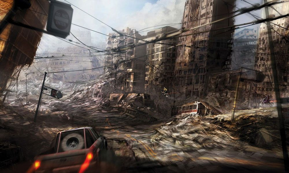 Ruined City | Apocalyptic - postapocalypse pic's ...