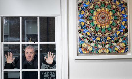 D Hurst , the richest living artist,...he sold his own work at Sotheby's, bi-passed dealers...made 111Million £ !!?? arrrg