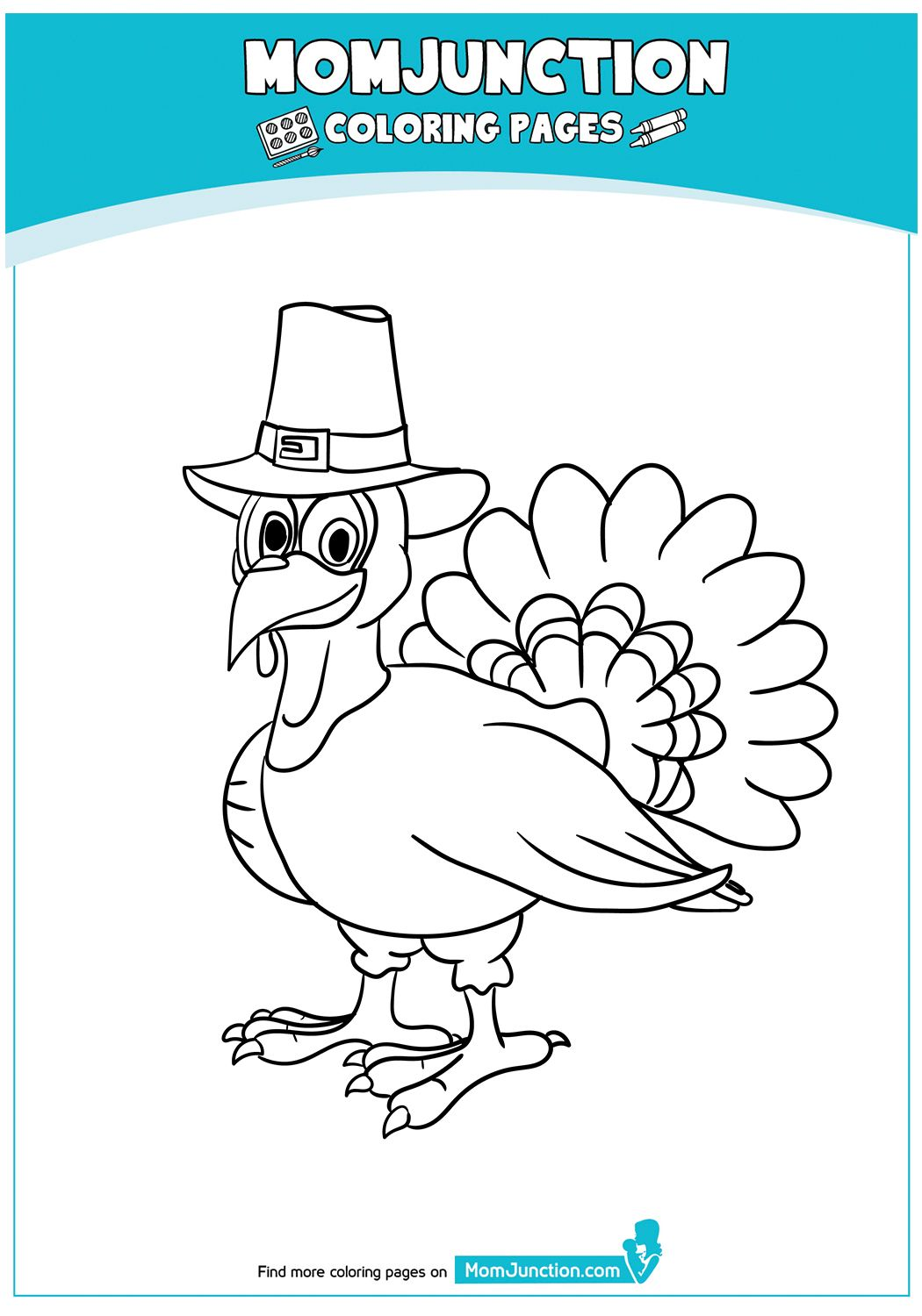 The Pilgrim Turkey 17 Turkey Coloring Pages Coloring Pages Color