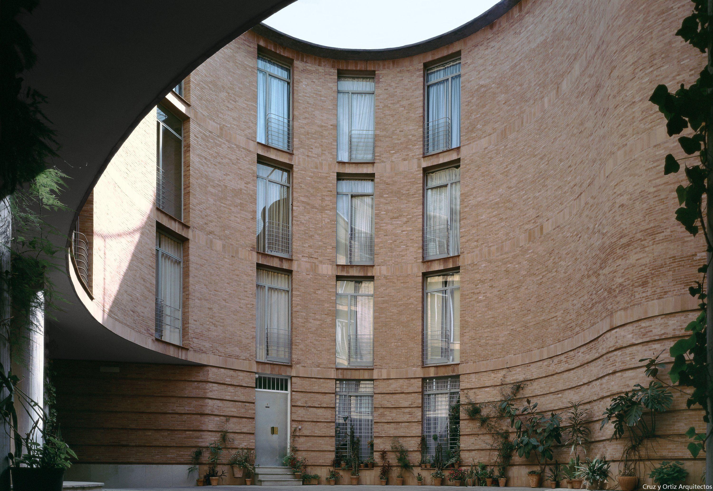 Architecture Cruz + Ortiz Maria Coronel Sevilla 1974 1976