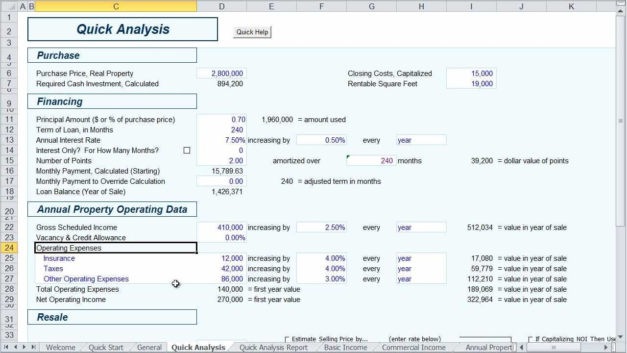 Real Estate Investment Analysis Video  The Quick Analysis
