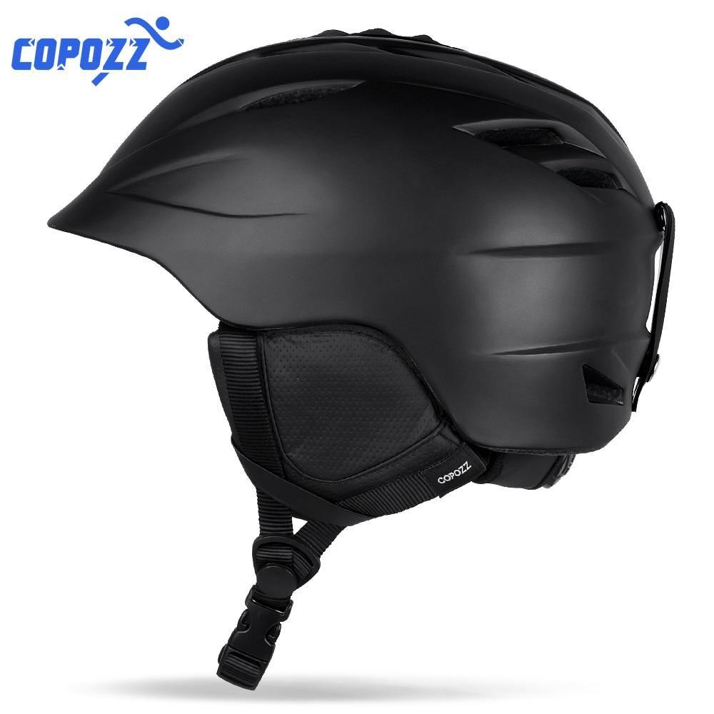 Ski Helmets Outdoor Ski Helmet Ultralight Integrally-molded Skiing Helmet Men Women Skateboard Snowboard Safety Protection Sports Helmet