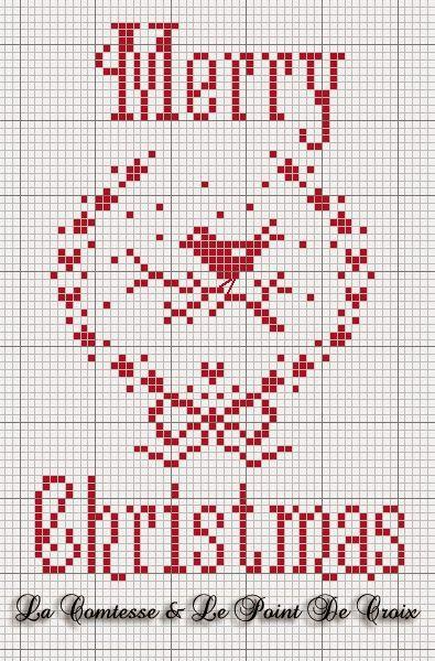 La Comtesse Et Le Point De Croix : comtesse, point, croix, Comtesse, Point, Croix, Cadeaux, Brodés, Croix,, Noël