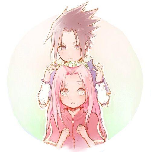 Imagen De Art Sasuke Uchiha And Fan Art Naruto Shippuden Anime Sakura And Sasuke Sasusaku