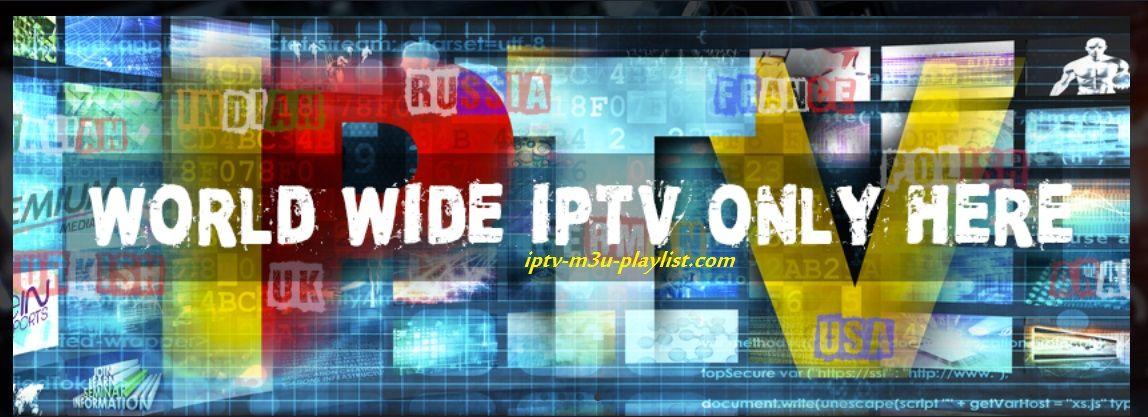 Iptv M3u Playlist 05 10 2018 Online Links Servers Playlist World Online