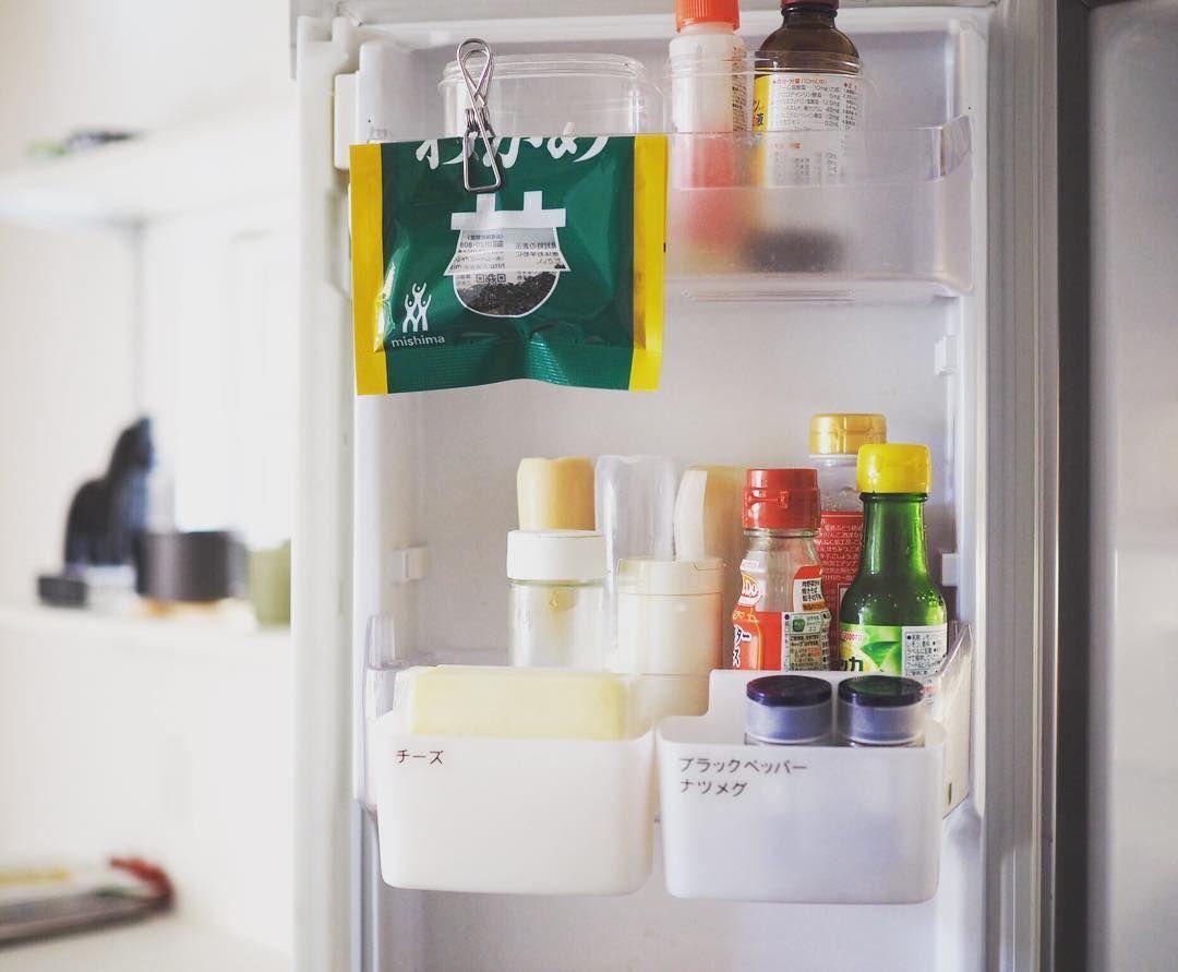 使い道は無限大 100均 ステンレスピンチ があれにもこれにも使えて便利 冷蔵庫 収納 収納 アイデア 収納