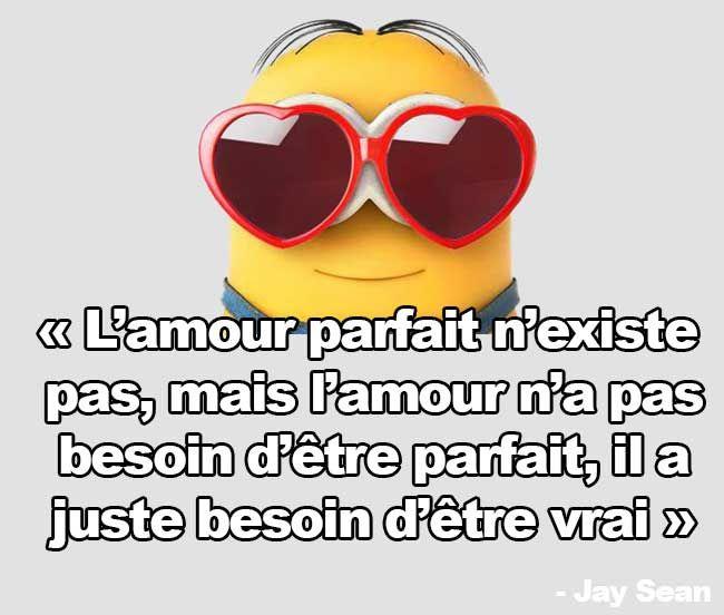 Pingl par maryse lussier sur citations inspirantes pinterest citation citation minion et - Minion amoureux ...