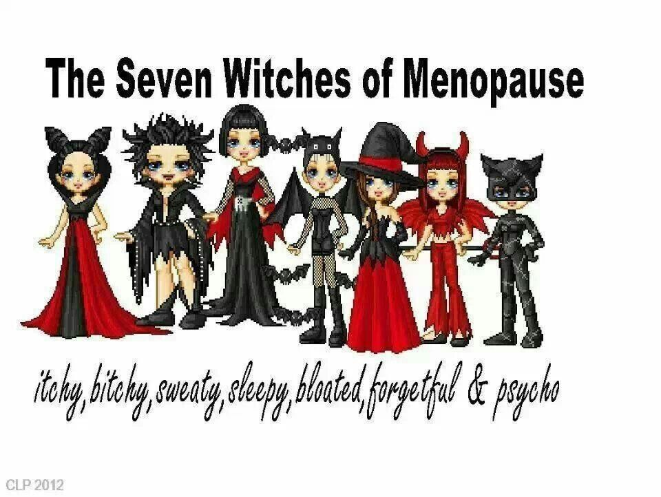 The 7 witches of menopause