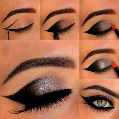 how to apply smokey eye shadow  smoky eye makeup smoky