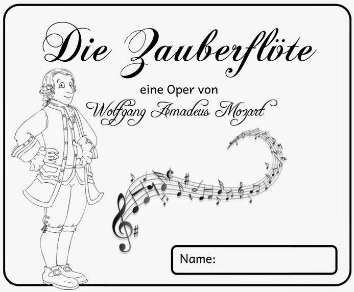 Kleines Wissensheft Zu Mozarts Zauberflote Musik Schule Musik Fur Die Grundschule Musik Klasse