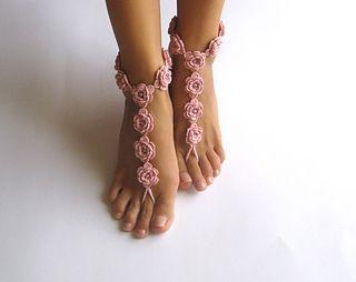 Barefoot Sandal pattern