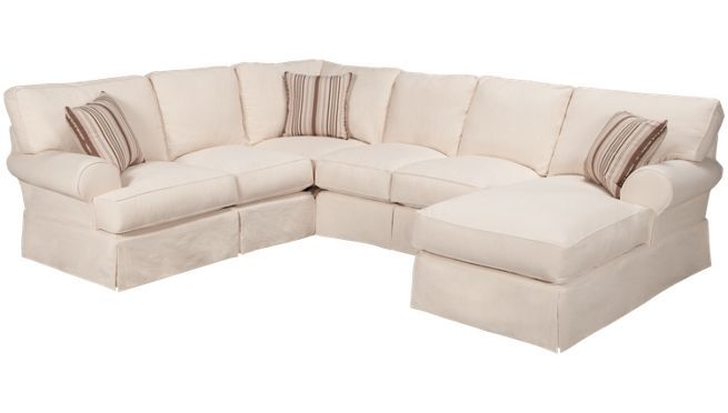Synergy Clic Sect 4 Piece Sectional Jordan S
