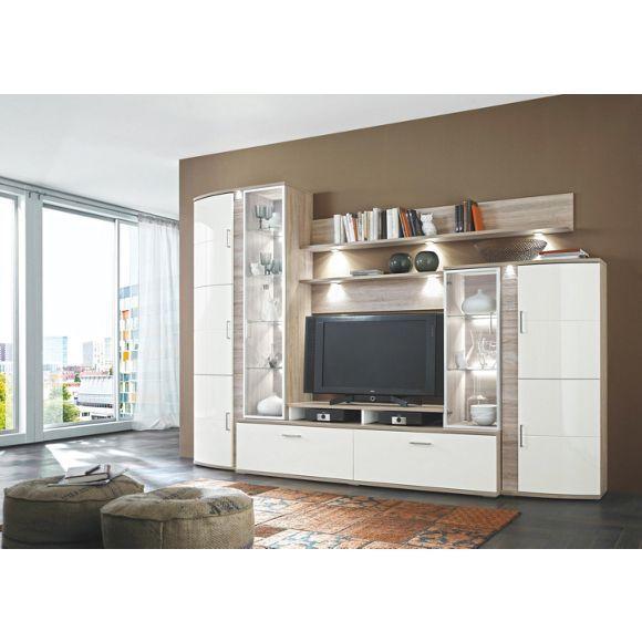 Wohnwand Von Xora Eleganz Fur Ihr Wohnzimmer Wohnen Wohnwand Schlafzimmer Design