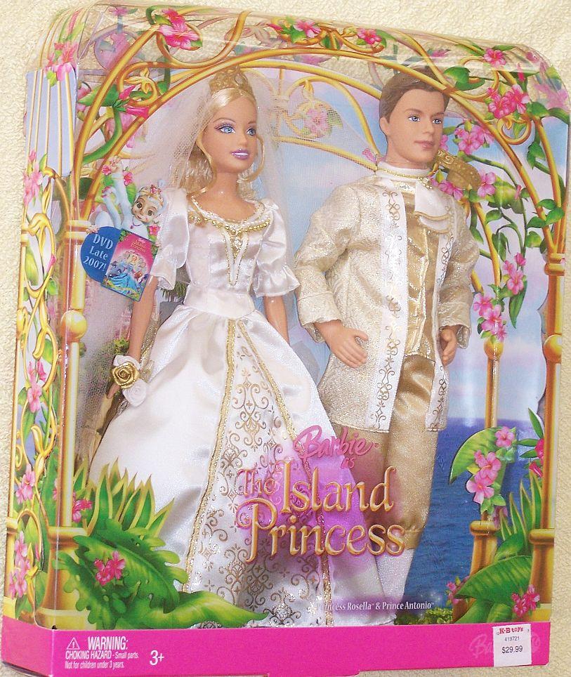 Barbie as The Island Princess Rosella & Antonio Wedding