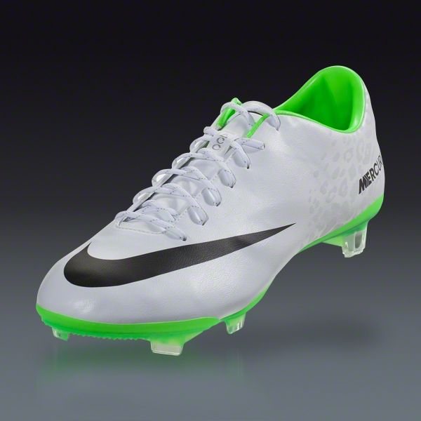 release date: 2594c eef93 Nike Mercurial Vapor IX FG - White Black Electric Green- Reflective Pack  Firm Ground Soccer Shoes