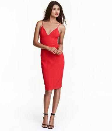 Figurbetontes kleid kurz