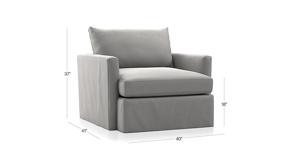 Marvelous Lounge Ii Petite Outdoor Slipcovered 360 Swivel Chair Lamtechconsult Wood Chair Design Ideas Lamtechconsultcom