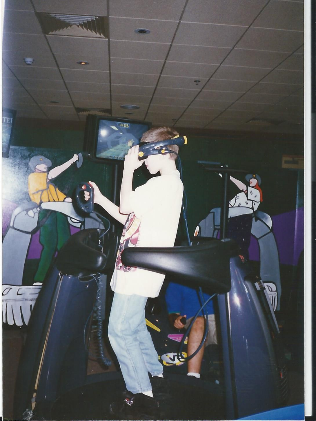 Virtuality Vr In The 90 S Wearable Computer Wearable