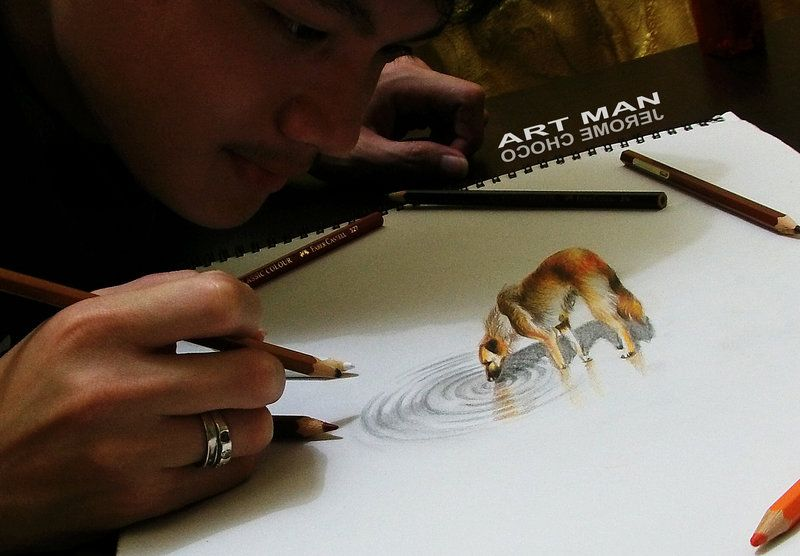 My PET , My DRAWING by jeromechoco.deviantart.com on @deviantART