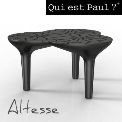 Cédric Ragot signe pour Qui est Paul la table basse ALTESSE, en ...