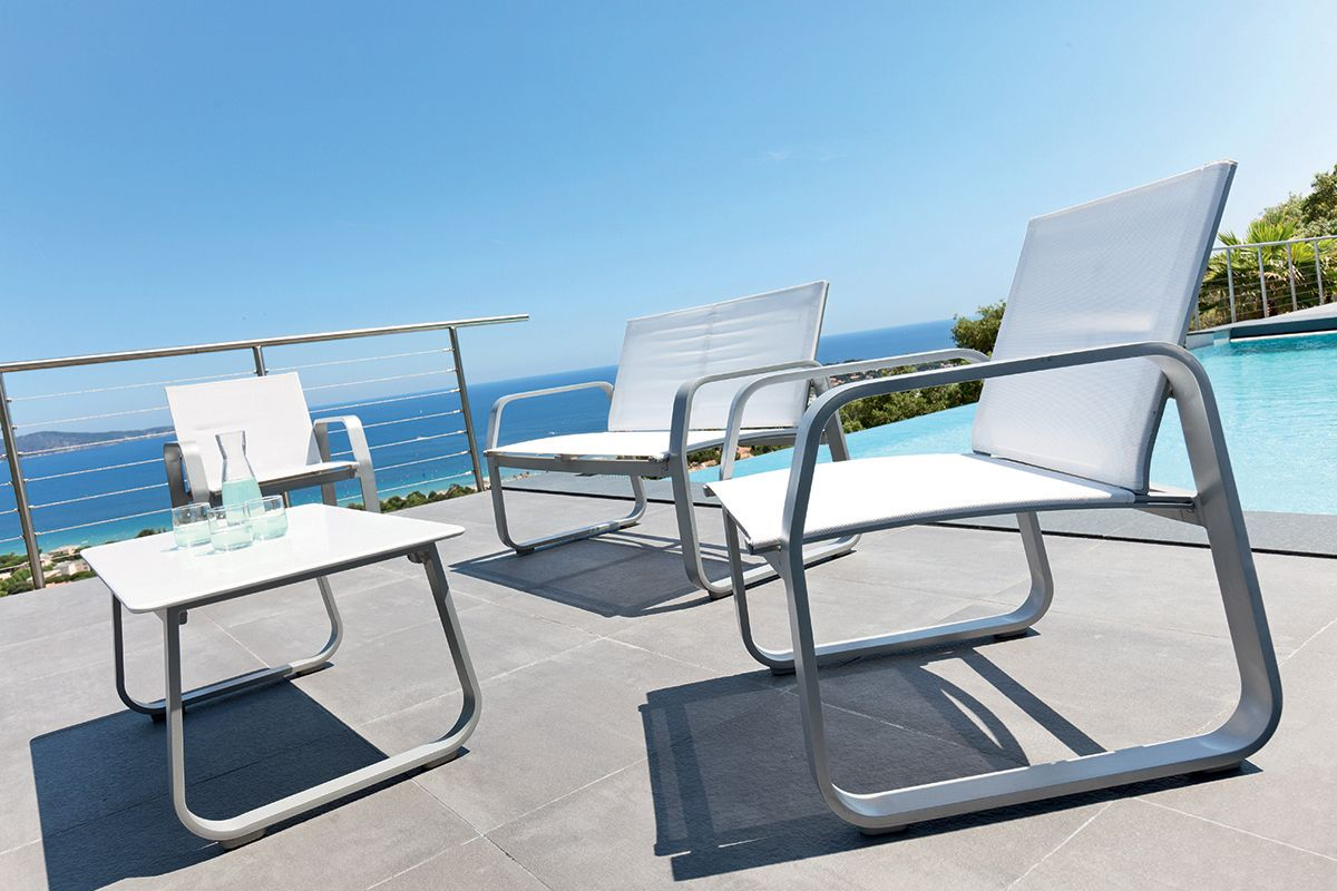 Salon de jardin Gili - HESPERIDE.fr | jardin | Outdoor furniture ...