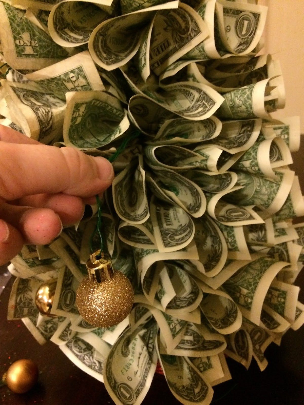 Diy Money Christmas Tree, Creative Cash Gift Tutorial
